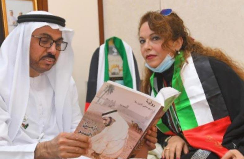 نادي تراث الامارات يكرم الروائية السورية مريم محيي الدين ملا