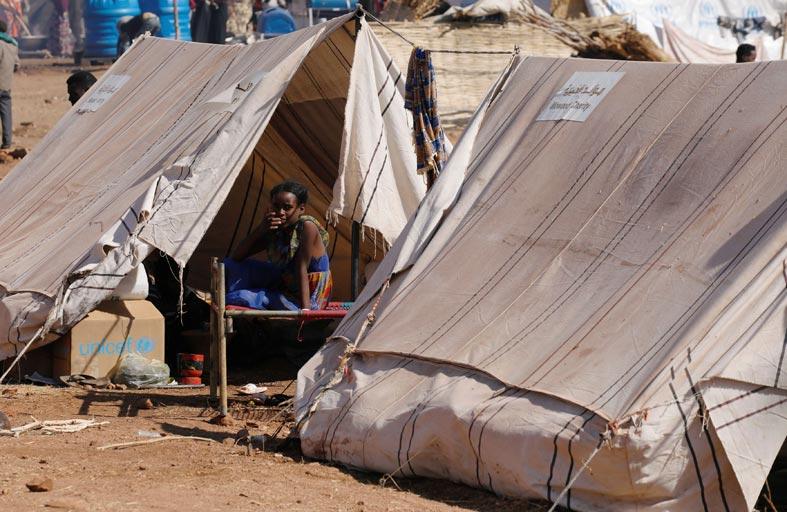 حياة جديدة في مخيم أم راكوبة في السودان