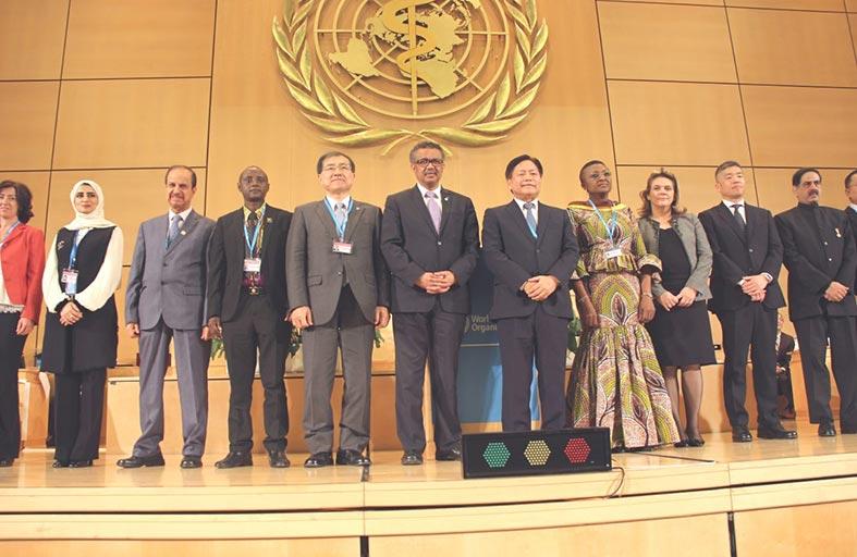 الإمارات عضوا في المجلس التنفيذي لمنظمة الصحة العالمية