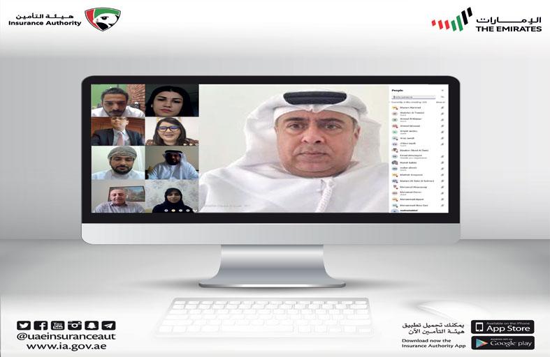 الاتحاد العربي لمراقبي التأمين يبحث عن بعد سبل مواجهة تداعيات «كورونا »على الأسواق العربية