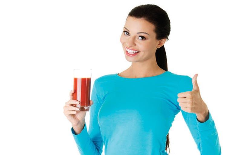 عصير الطماطم غير المملح يحمي القلب