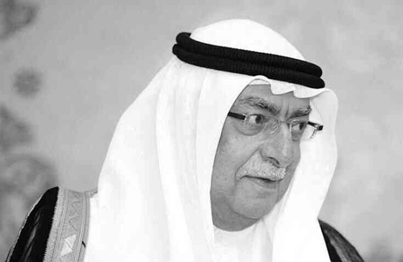ديوان حاكم عجمان ينعى الشيخ أحمد بن سلطان القاسمي