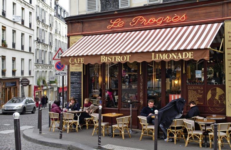 حظر القهوة في شرفات مقاهي فرنسا