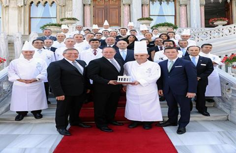 تشيران بالاس كمبينسكي اسطنبول أفضل فندق في مجال الطعام والشراب لعام 2013