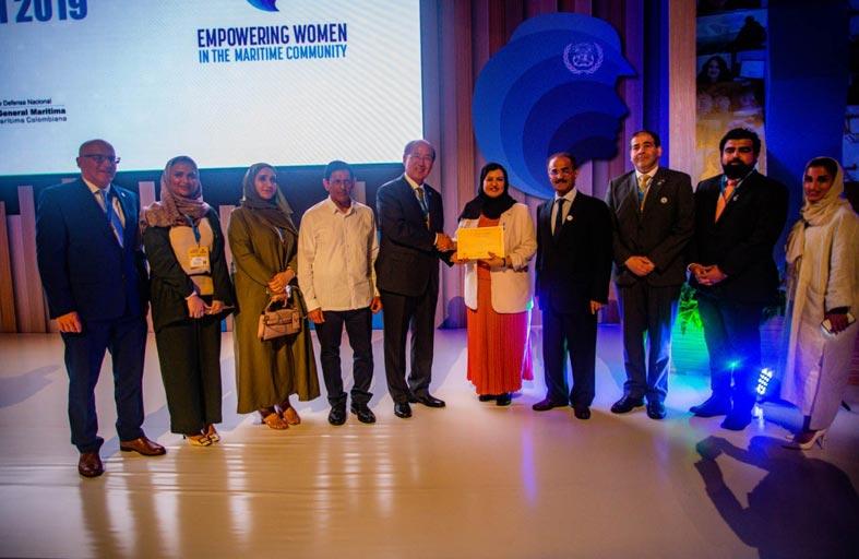 «المنظمة البحرية الدولية» تعلن تسمية أول امرأة إماراتية سفيراً بحرياً للنوايا الحسنة