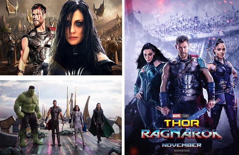 Thor: Ragnarok  انتصار سيد الرعد ينقذ البشرية وينتصر على الشر