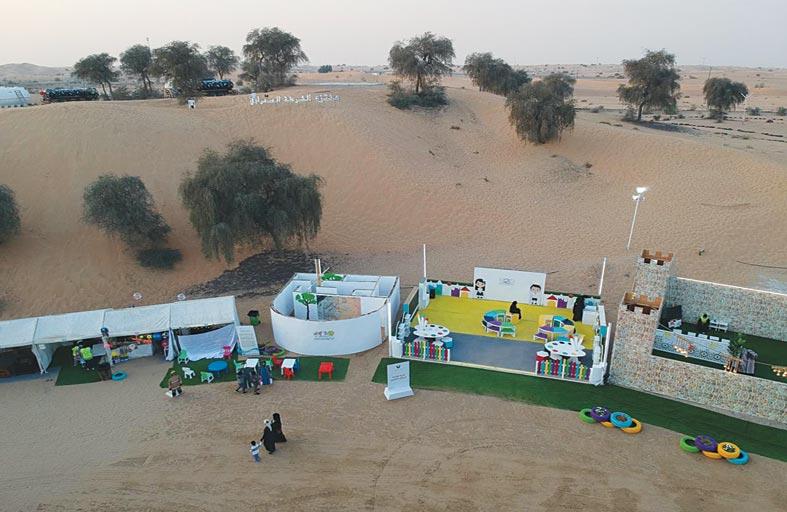«الشارقة صديقة للطفل» يشارك في «منتزه الشرطة الصحراوي» بتحدي الألغاز لليافعين