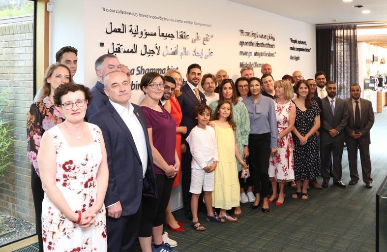 معهد مولر بجامعة كامبريدج يكرم الشيخة شما بنت سلطان
