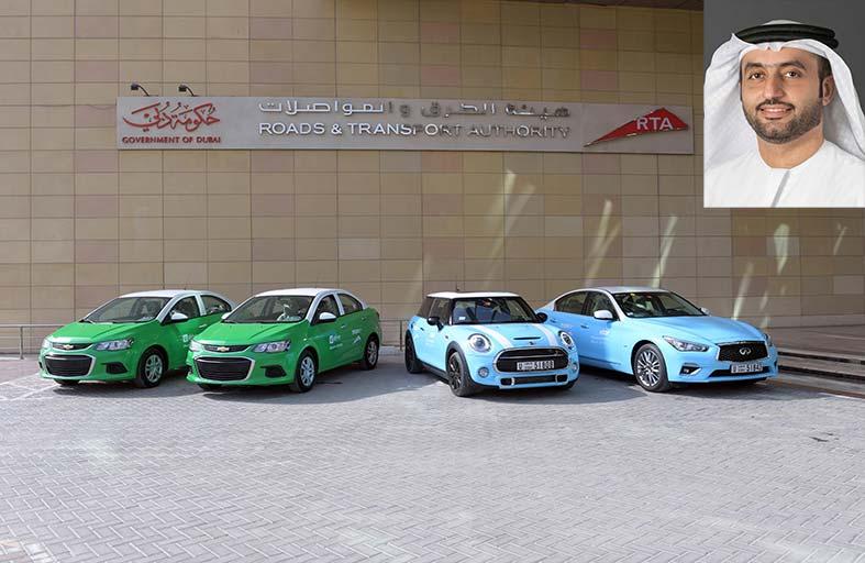 «طرق دبي» ترفع عدد أسطول مركبات التأجير الذكي إلى 400 سيارة