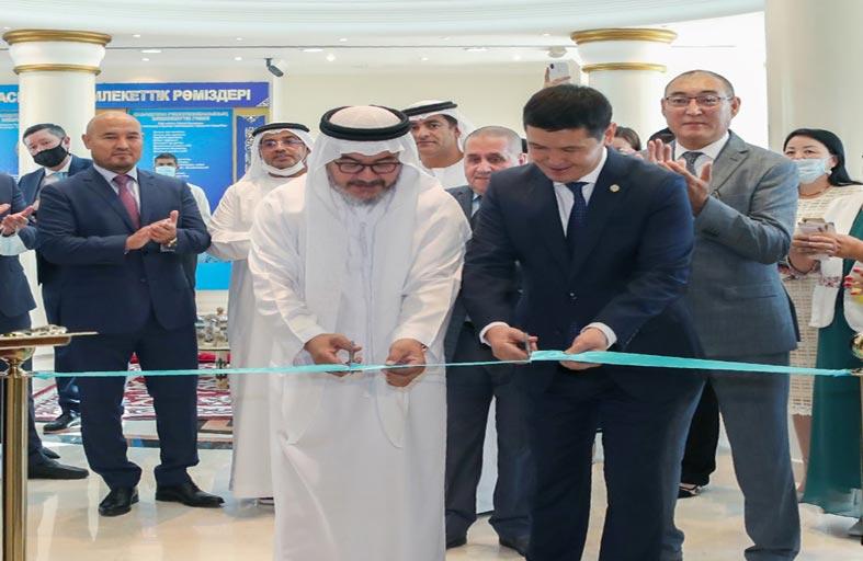 سفير كازاخستان يفتتح مركز آباي للمعلومات والثقافة في أبوظبي