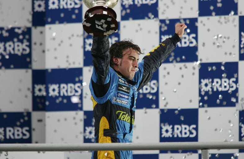 فرناندو ألونسو ينضم إلى فريق «رينو موانئ دبي العالمية للفورمولا 1»