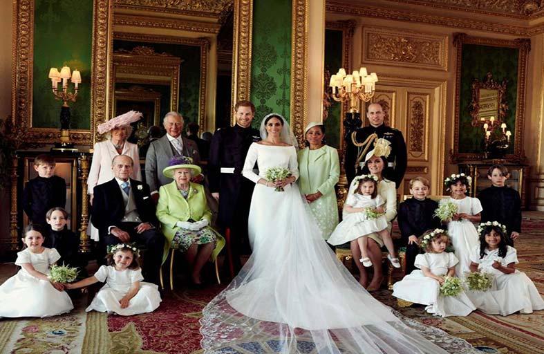 الصور الرسمية لحفل زفاف ميغان وهاري