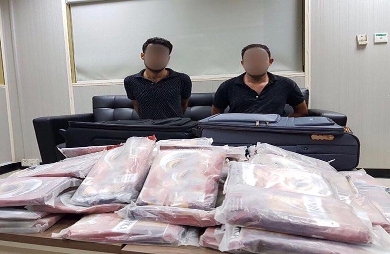 عملية «مدفع الإفطار» لشرطة أبوظبي تحبط ترويج 73 كيلو جراماً «حشيش» في رمضان