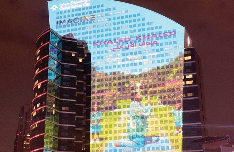 دبي فستيفال سيتي مول يقدم عرض تخيّل على أنغام ألبوم دي جي خالد