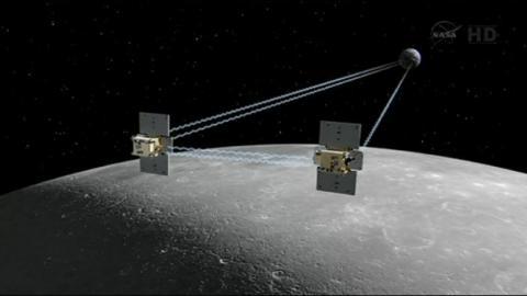 ناسا تدمر مسبارين على القمر
