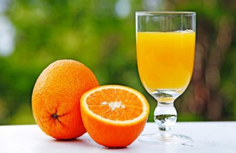 البرتقال يساعد على الهضم