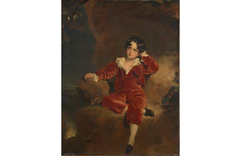 متحف لندن الوطنى يستحوذ على لوحة «الولد الأحمر» لتوماس لورانس..