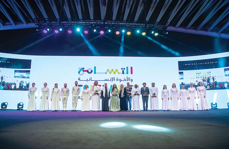 حسين الجسمي سفير رسالة التسامح من الإمارات إلى العالم