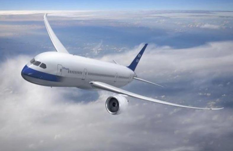 سبب طلاء الطائرات باللون الأبيض