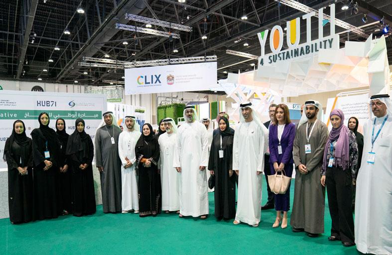 خالد بن محمد بن زايد يشهد إطلاق مبادرة أبوظبي للمناخ لتعزيز الابتكار في مجال الاستدامة