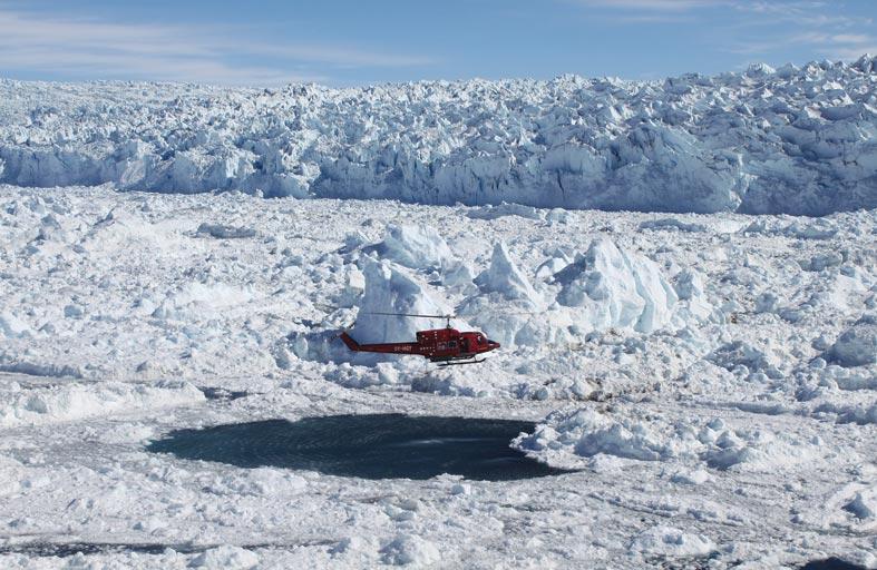 باحثون من جامعة نيويورك أبوظبي وجامعة جنوب فلوريدا يدرسون آليات انهيار الغطاء الجليدي