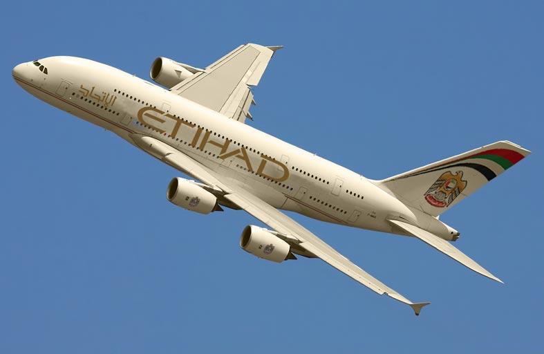 «الاتحاد للطيران» تنقل  5 ملايين راكب من وإلى الصين