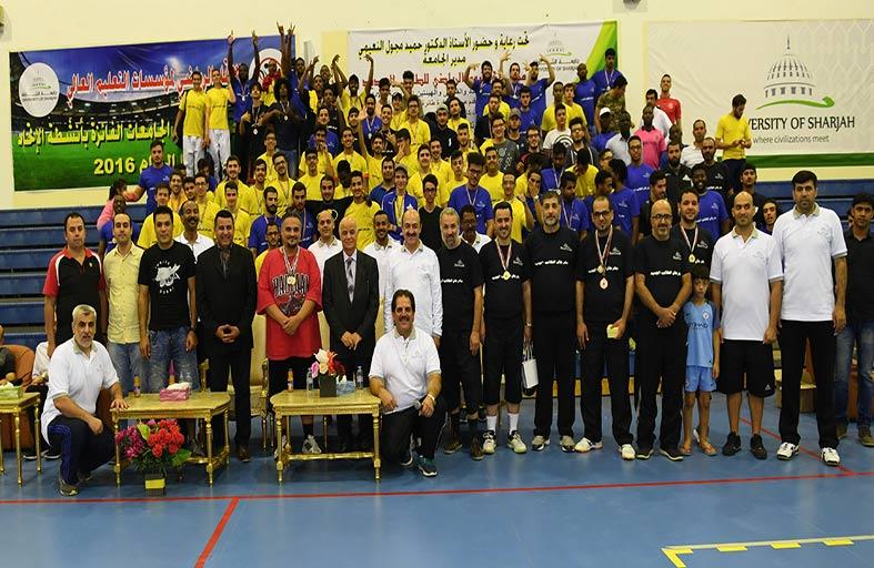 جامعة الشارقة تنظم اليوم الرياضي للطالب الجديد