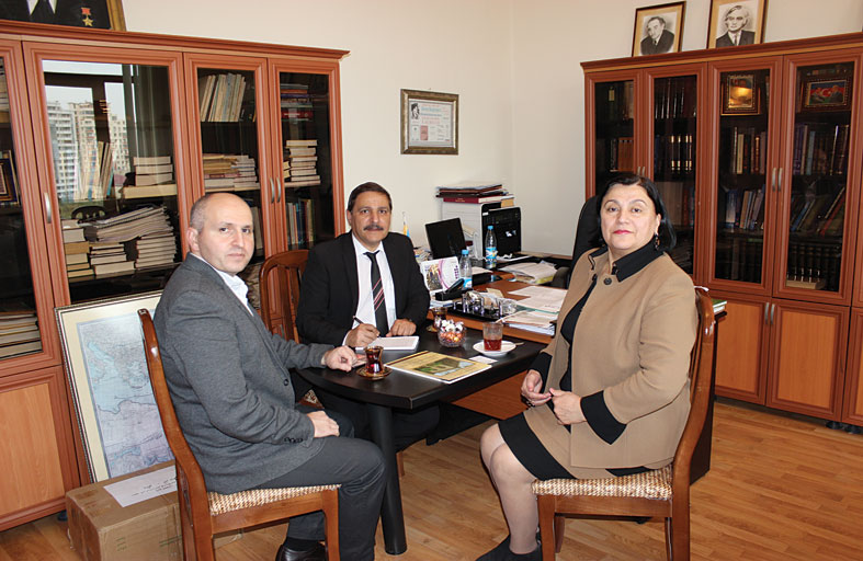 رئيسة معهد الدراسات الشرقية في باكو تؤكد اهتمام المعهد بدراسة آداب وتاريخ العالم العربي