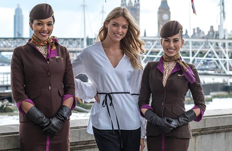 الاتحاد للطيران تتولى رعاية عرض مصمم الأزياء الشهير جوليان ماكدونالد في أسبوع لندن للموضة