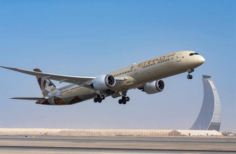 الاتحاد للطيران تنقل 4.2 مليون مسافر خلال 2020