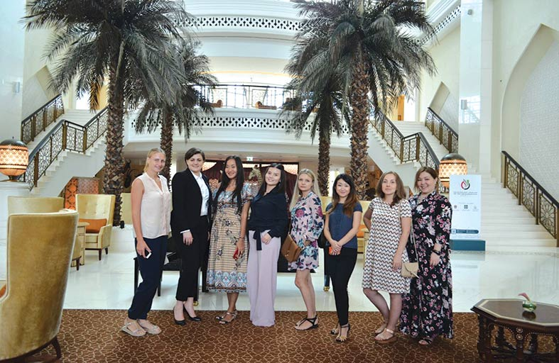 باب القصر يستضيف وفد إعلامي من كازاخستان