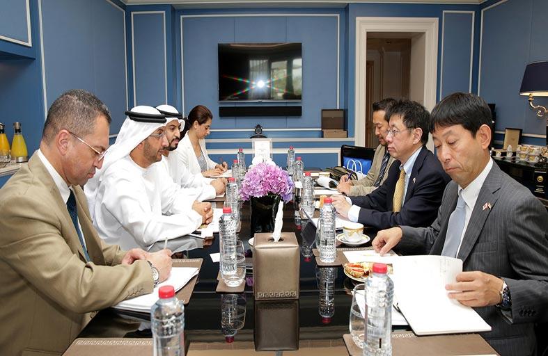 وزارة الاقتصاد تبحث مع اليابان سبل تنمية أفاق التعاون المشترك