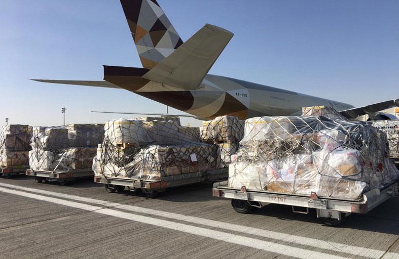 الاتحاد للشحن توسّع شبكة وجهاتها لتعزيز دورها  في توصيل المواد الحيوية إلى الإمارات والأسواق العالمية