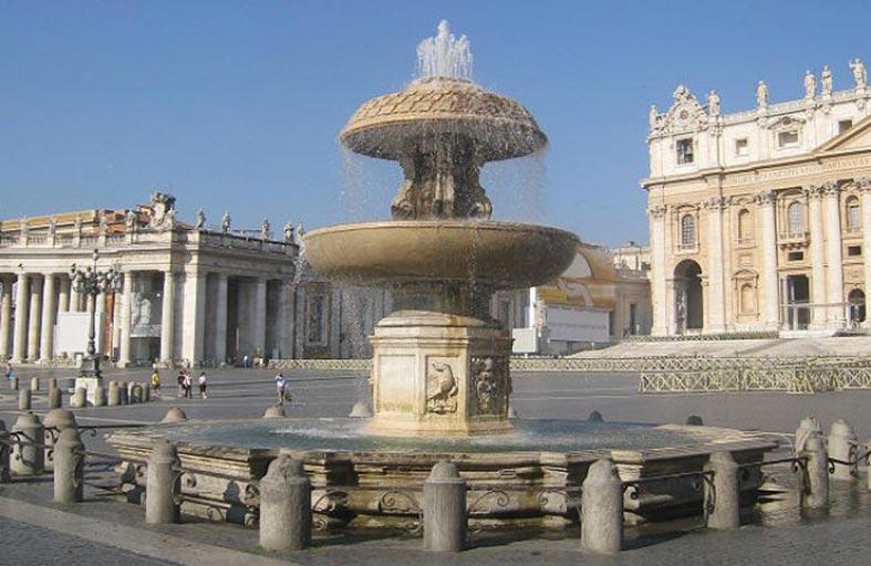 الفاتيكان يغلق نافوراته بسبب الجفاف