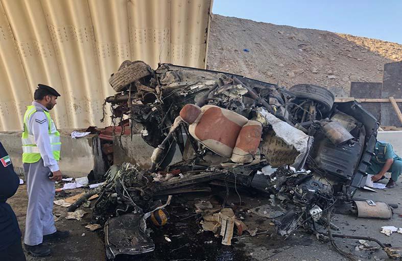 وفاة مواطن إثر حادث أليم في رأس الخيمة