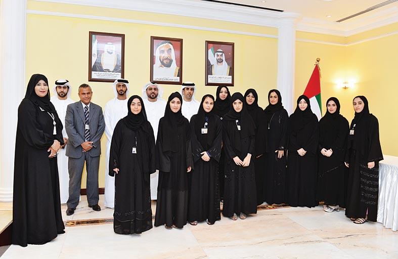 غرفة أبوظبي تختتم برنامج التدريب الصيفي للطلبة المواطنين 2019