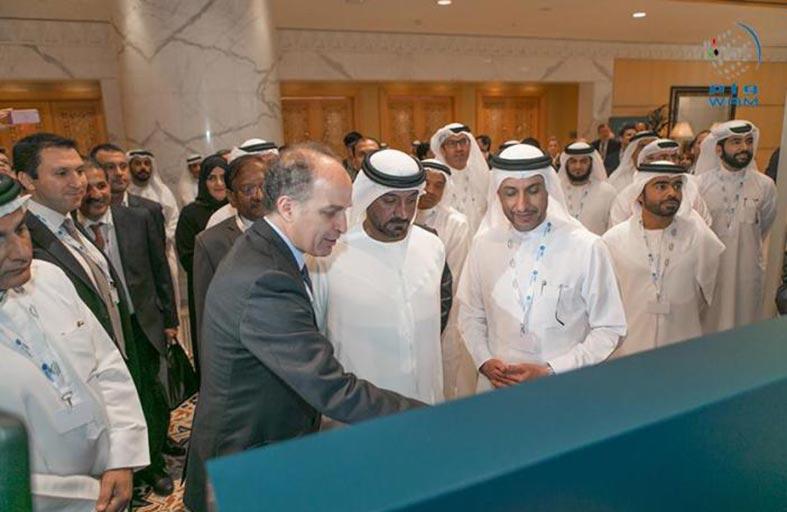 أحمد بن سعيد يتفقد تحضيرات المؤتمر السنوي الأول للمنظمة العالمية للمناطق الحرة