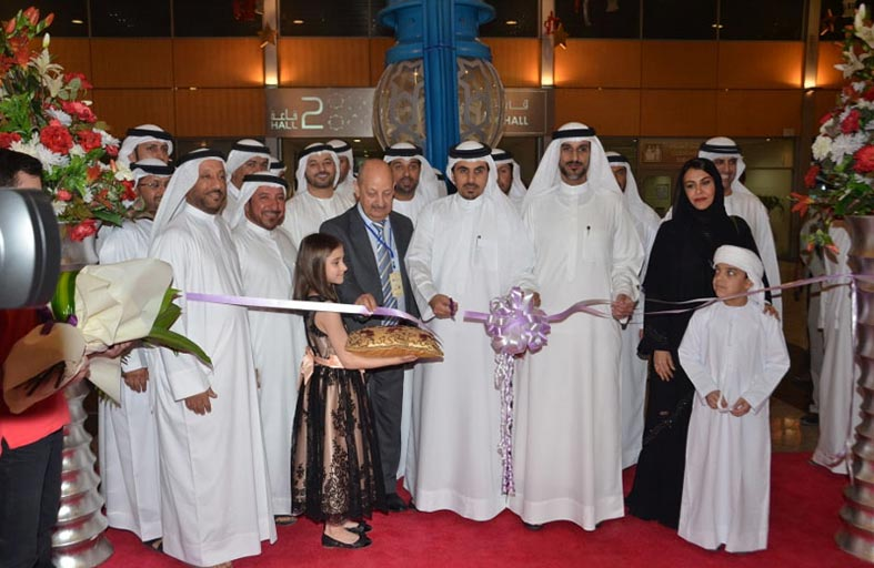 افتتاح معرض رمضان و العيد بمركز إكسبو الشارقة