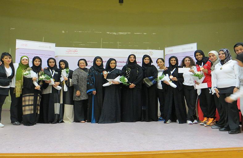 اختتام بطولة دبي المفتوحة للريشة الطائرة سيدات