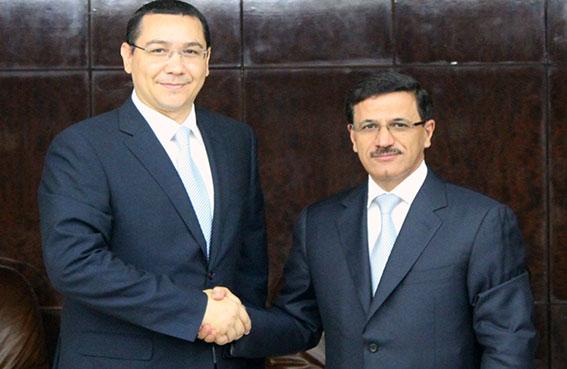 وزير الاقتصاد يبحث مع رئيس وزراء رومانيا تعزيز التعاون الثنائي
