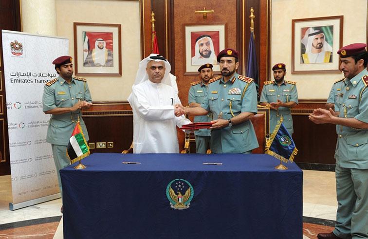 الداخلية و مواصلات الإمارات توقعان اتفاقية لتقديم خدمات الفحص الفني للمركبات المتوسطة والثقيلة