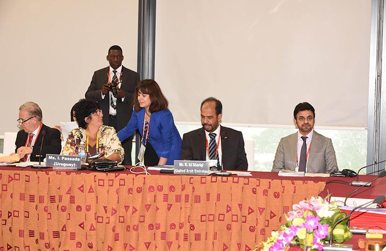 الشعبة البرلمانية الإماراتية تشارك في الاجتماع 271 للجنة التنفيذية للاتحاد البرلماني الدولي بهانوي