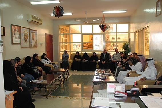 مجلس أولياء أمور المنطقة الوسطى يزور مدرستي الذيد للتعليم الثانوي والبردي للتعليم الأساسي