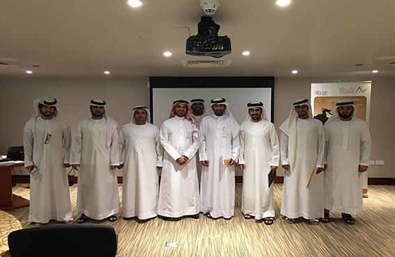 الموارد البشرية بمحاكم دبي تنظم برنامج تدريبي بعنوان