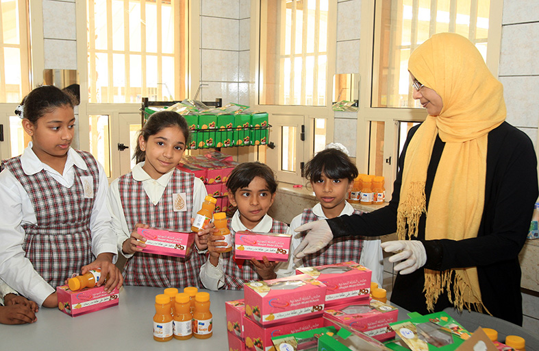 رضا عام في الميدان عن الوجبة الصحية في مدارس الشارقة