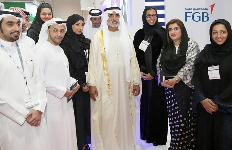 بنك الخليج الأول يستعرض فرص توظيفية لمواطني الدولة