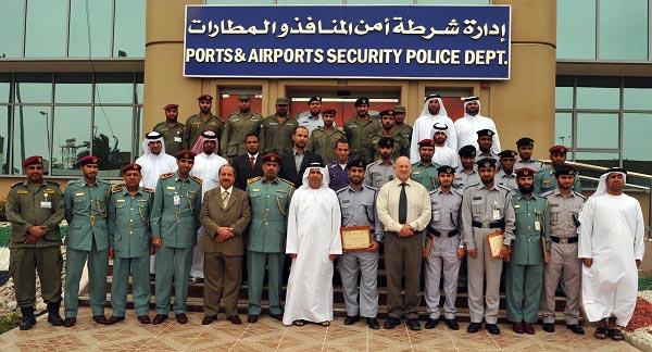 تخريج 3 دورات متخصصة بأمن المنافذ في شرطة أبوظبي
