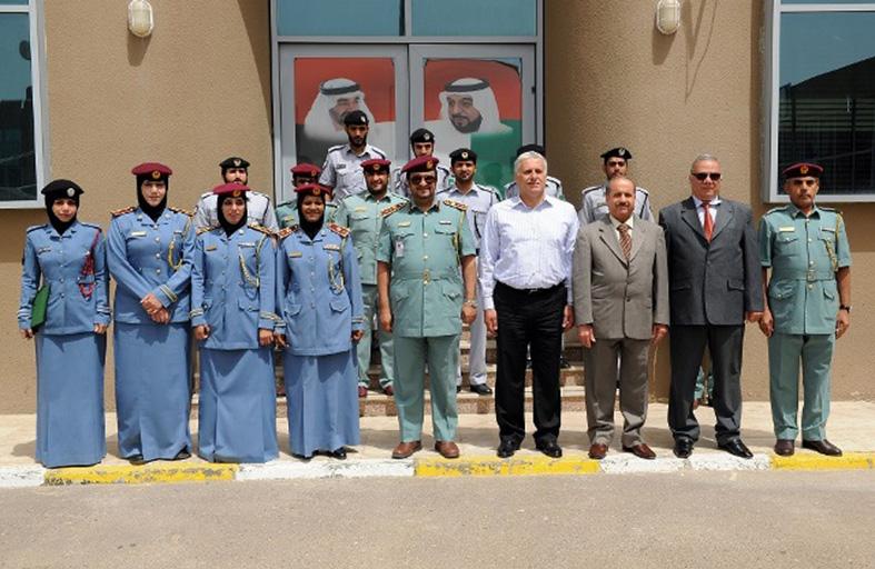 تخريج 4 دورات بـ أمن المنافذ في شرطة أبوظبي