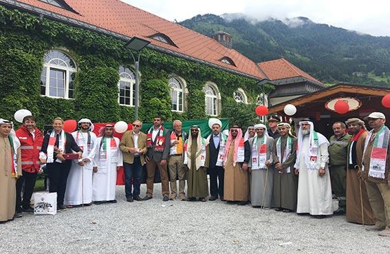 عمدة بادهوف جاستين  يشيد بالمبادرة التطوعية «معاً .. من أجل السلام » للسياح الإماراتيين