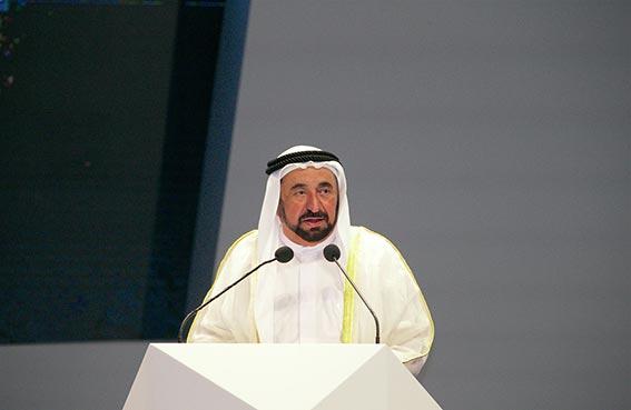 حاكم الشارقة يفتتح الدورة الخامسة للمنتدى الدولي للاتصال الحكومي